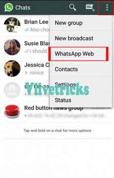 whatsapp-web option