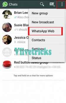 whatsapp-web option
