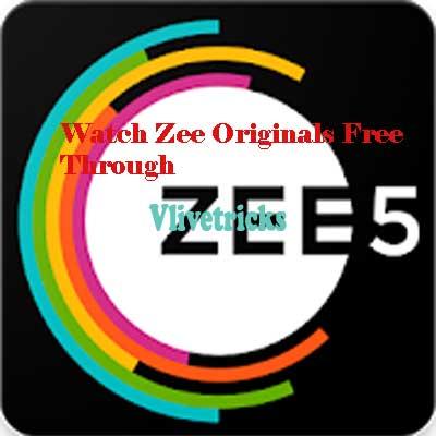 watch zee originals free