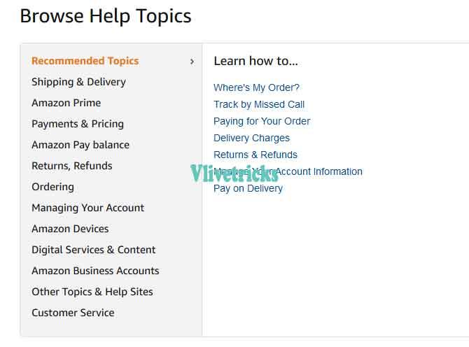 amazon-help-topics