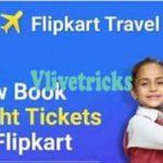 Flipkart Flight Offers -Flat Rs 1000 Discount on all Domestic Flights Booking