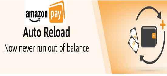 amazon pay auto reload