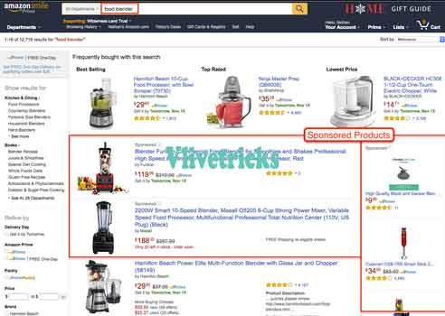 amazon-sponsored products