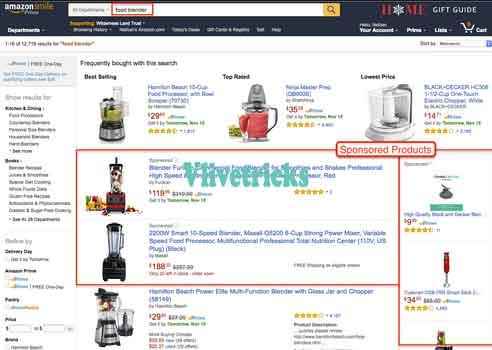 amazon-sponsored products