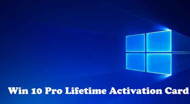 win 10 pro activation key