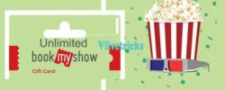 Generate Unlimited BookmyShow Gift Vouchers by Facebook Recharge