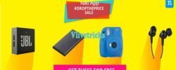 Niki.ai App Drop The Price of Camera,EP,Bags to Rs 0 & Get it Free