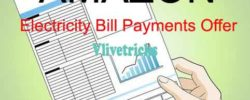 (All Users) Amazon Electricity Bill Payments Loot-Get 10% PayCash