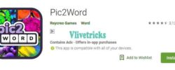 (Answers) Pic2word App -Loot Free Rs 10 Paytm Cash + Rs 10/Refer