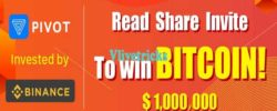 (Loot) Pivot Bitcoin App :Read,Share Articles,Refer & Earn (Free 1Lac Power)