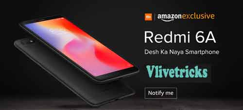 Redmi 6a Offer