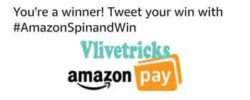 amazon spin and win proof