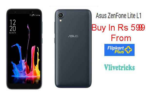 Asus ZenFone Lite L1 Buy From Flipkart