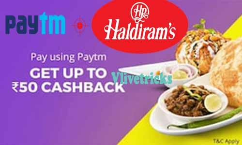 Paytm Haldiram Offer
