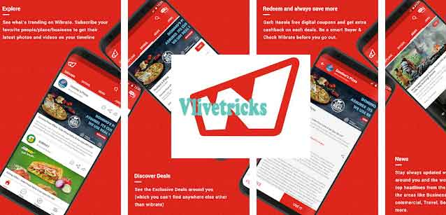 wibrate app refer and earn vouchers