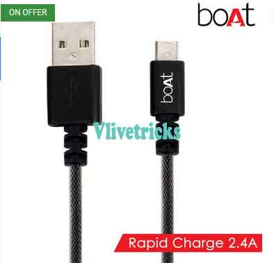 boat micro usb cable