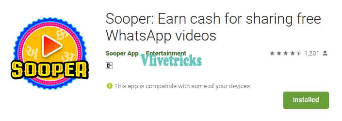 sooper app refer and earn