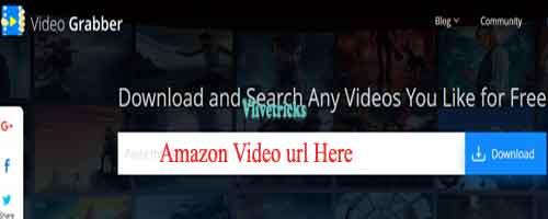 amazon prime video grabber