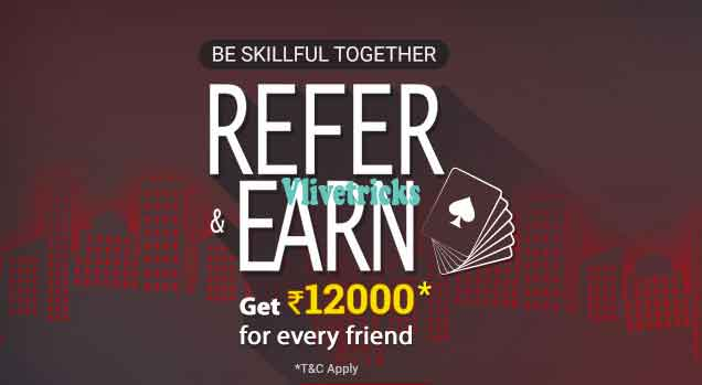 ace2three rummy refer and earn