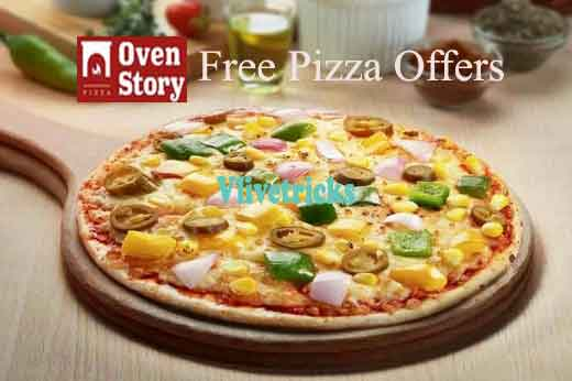 Ovenstory Free Pizza Coupon