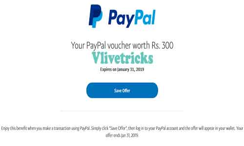 free paypal voucher