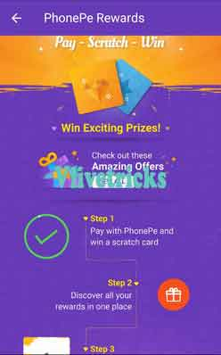 Phonepe Scratch Cards