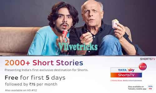 tatasky shorts tv subscribe