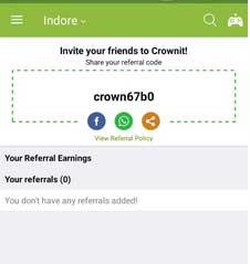crownit app referral code