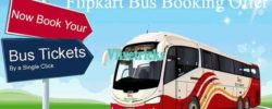 flipkart bus booking offer