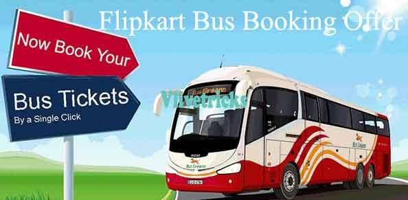 flipkart bus booking offer