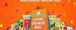 grofers grand orange bag days sale