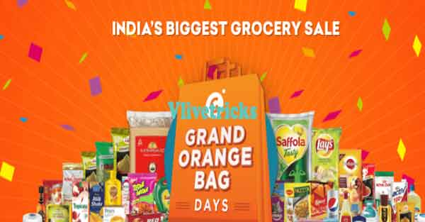 grofers grand orange bag days sale