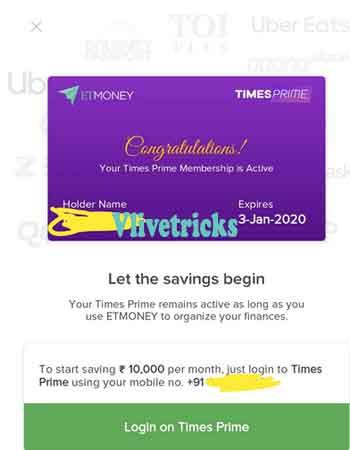 times prime premium membership free