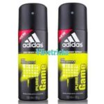ADIDAS Pure Game Deodorant Pack of 2 Spray at ₹228 Worth ₹380