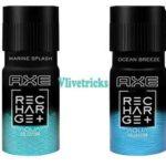 AXE Recharge Marine Splash, Ocean Breeze Deodorant @ ₹133