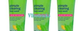 clean and clear pimple clear facial face wash