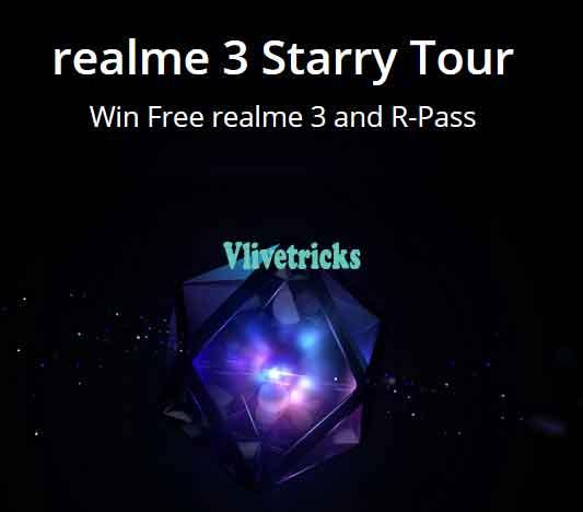 realme-3-starry-tour contest