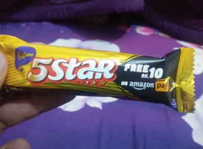 Cadbury 5 Star Amazon Pay Offer