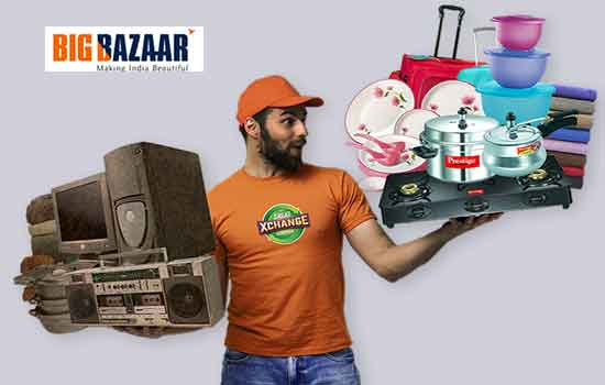 big bazaar exchange offer