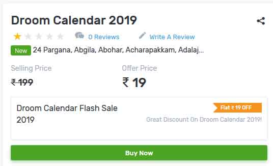 droom-calendar-2019