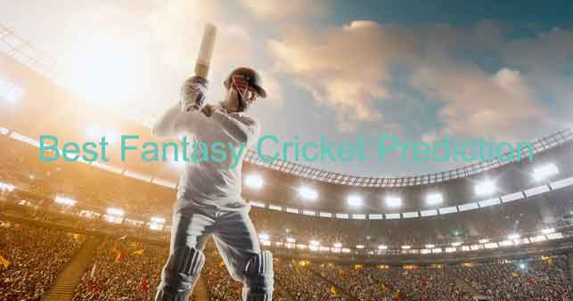 best fantasy cricket prediction