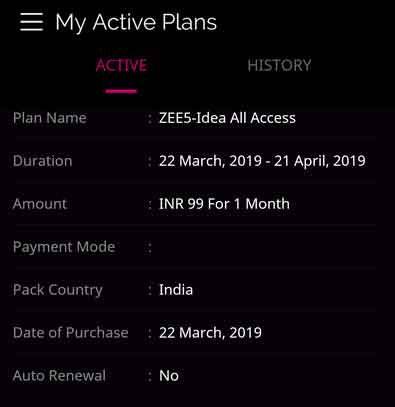 Zee5 Premium Subscription Account Free for Idea & Vodafone - Vlivetricks