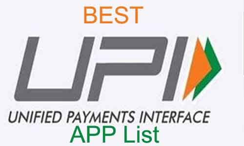 best upi app