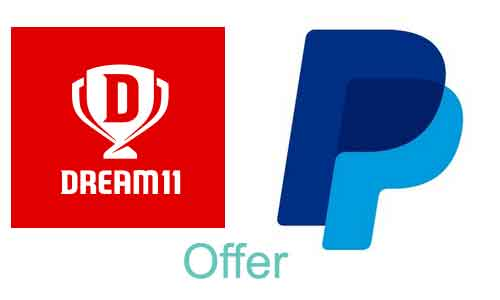 dream11 paypal offer