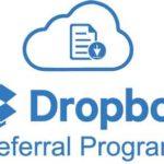 DropBox Referral Program :Invite Friends & Get 500mb Space/Refer