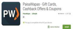 paisawapas paytm offer
