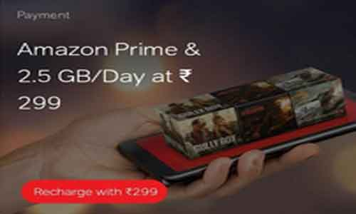 airtel 299 plan with amazon prime