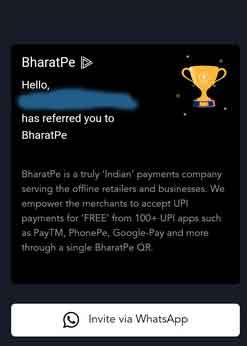 bharatpe-invite-whatsapp