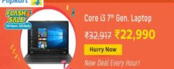 flipkart laptop flash sale