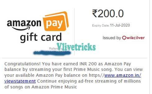 amazon free pay cash for music stream